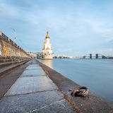 Church of St. Nicholas on the waters in Kiev, Ukraine Royalty Free Stock Photos