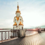 Church of St. Nicholas on the waters in Kiev, Ukraine Stock Image