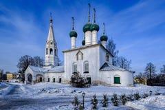 Church of St. Nicholas Wonder-Maker minced in city. Yaroslavl, R Royalty Free Stock Photography
