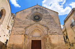 Church of St. Nicola dei Greci. Altamura. Puglia. Italy. Stock Photos