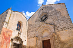 Church of St. Nicola dei Greci. Altamura. Puglia. Italy. Royalty Free Stock Photography