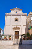 Church of St. Nicola. Fasano. Puglia. Italy. Royalty Free Stock Photos