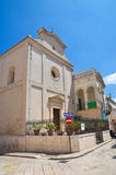 Church of St. Nicola. Fasano. Puglia. Italy. Royalty Free Stock Images