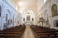 Church of St. Nicola in Plateis. Scalea. Calabria. Italy. Royalty Free Stock Photo