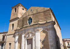 Church of St. Nicola. San Severo. Puglia. Italy. Royalty Free Stock Images
