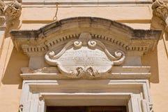 Church of St. Nicola. Taurisano. Puglia. Italy. Royalty Free Stock Photography