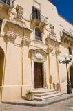 Church of St. Nicola. Taurisano. Puglia. Italy. Stock Photo