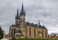 Church of St. Nicolas, Cheb, Czech republic Royalty Free Stock Photo