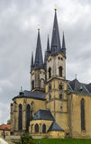 Church of St. Nicolas, Cheb, Czech republic Royalty Free Stock Images