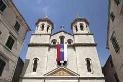 Church of St Nicolas in Kotor Royalty Free Stock Images