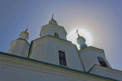 Church of the St Nicolas in Sviatohirsk Lavra Royalty Free Stock Photography