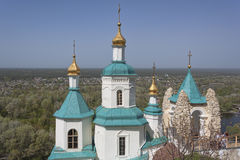 Church of the St Nicolas in Sviatohirsk Lavra Stock Images