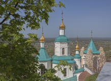 Church of the St Nicolas in Sviatohirsk Lavra Royalty Free Stock Photos