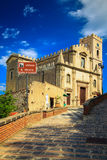Church of St. Nicolo in Savoca, Sicily Royalty Free Stock Photography