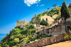Church of St. Nicolo in Savoca Royalty Free Stock Photography