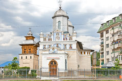 Church of St. Nifon  in Targoviste,   Romania. Royalty Free Stock Photography