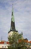 Church of St. Olaf in Tallinn. Estonia Royalty Free Stock Photo
