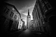 Church St. Olaf in Tallinn Royalty Free Stock Photo