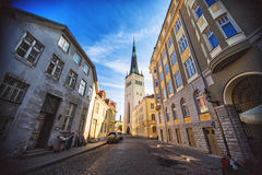 Church St. Olaf in Tallinn Royalty Free Stock Image