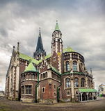 Church of st. Olga and Elizabeth in Lviv Ukraine Royalty Free Stock Photography