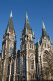 The Church of St. Olha and Elizabeth in Lviv Royalty Free Stock Images
