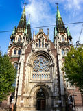 The Church of St. Olha and Elizabeth in Lviv Stock Photo