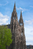 Church of St Ouen, Rouen, Normandy, France, Europe. Church of St. Ouen, Rouen, Normandy, France, Europe. Old large gothic roman catholic church. Beautiful Stock Photo