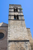 Church of St. Pancrazio. Tarquinia. Lazio. Italy. Stock Images