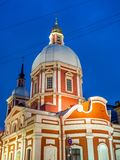 Church of St. Panteleimon the Healer, Saint Petersburg, Russia royalty free stock image