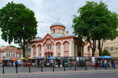 Church of St. Paraskeva, Vilnius, Lithuania Royalty Free Stock Images