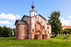 Church of St. Paraskeva at Yaroslav's Court in Veliky Novgorod Stock Images