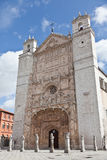Church of St. Paul in Valladolid, Spain Royalty Free Stock Images