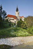 Church of St. Peter in Brestanica. Municipality of Krsko. Slovenia Stock Photo