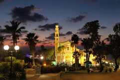 Church of St. Peter in Jaffa Stock Photos