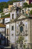 Church of St. Peter Miragaia located in the parish of Miragaia in Porto, Portugal.  stock images