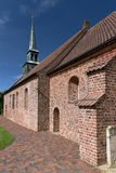 Church of St. Peter-Ording Royalty Free Stock Photo