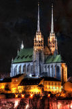 Church of St. Peter and Paul in Brno. Church of St. Peter and Paul in the Old Town Brno Royalty Free Stock Image