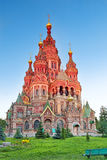 Church of St. Peter and Paul Church, Peterhof Stock Photos