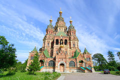 Church of St. Peter and Paul Church Saint Petersburg, Russia Stock Photography