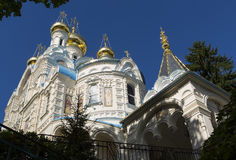 Church of St. Peter and Paul. Karlovy vary. Czech republic. Royalty Free Stock Photos