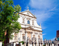 Church of St Peter and Paul in Krakow Royalty Free Stock Images