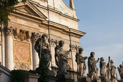 Church of St Peter and Paul in Krakow Stock Photography
