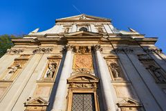 Church of St. Peter and Paul in Krakow Royalty Free Stock Photography