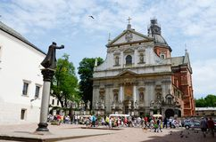 Church of St. Peter and Paul, Krakow, Poland stock photo
