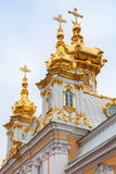 Church of St Peter and Paul in Peterhof, Petersburg Stock Photo