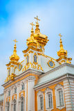 Church of St. Peter and Paul in Peterhof, St. Petersburg Stock Images