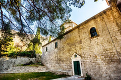 Church of St. Peter and Paul in Risan, Montenegro Royalty Free Stock Photo