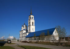 Church of St. Peter and Paul. Severouralsk. Russia. Stock Photography