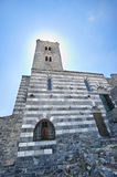 The church of St. Peter in Porto Venere Royalty Free Stock Image