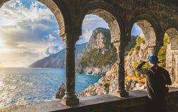 Church of St. Peter in Porto Venere, Ligurian Coast, La Spezia, Italy Royalty Free Stock Photo
